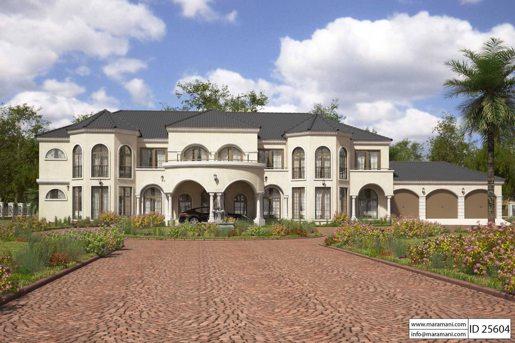 5 Bedroom House Design - ID 25604 - House Designs by Maramani