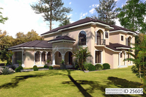 5 Bedroom House Plan - ID 25605