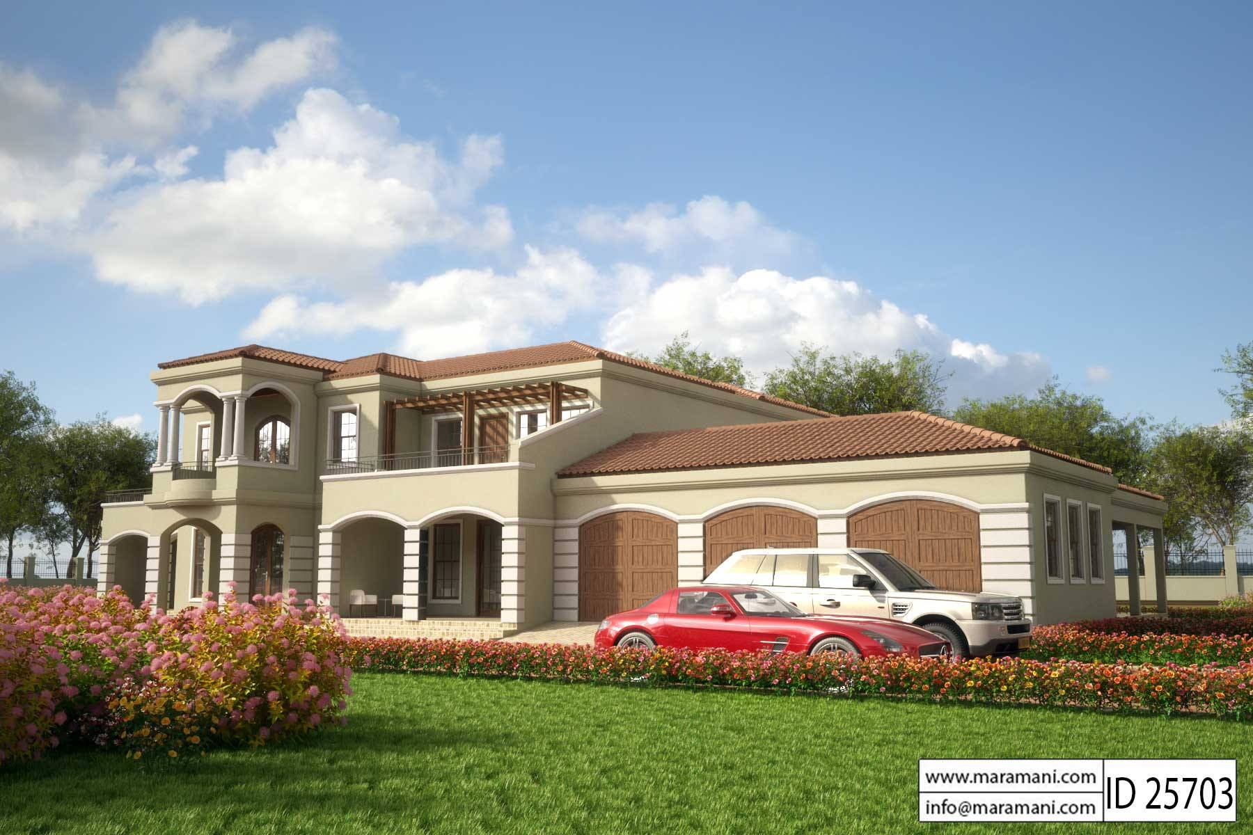 5 bedroom house plan id 25703 house plans by maramani