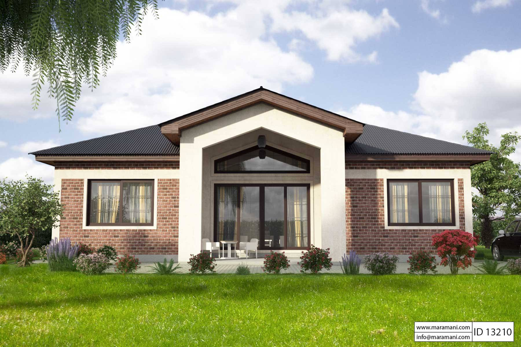 Delicieux 3 Bedroom House Plan   ID 13210