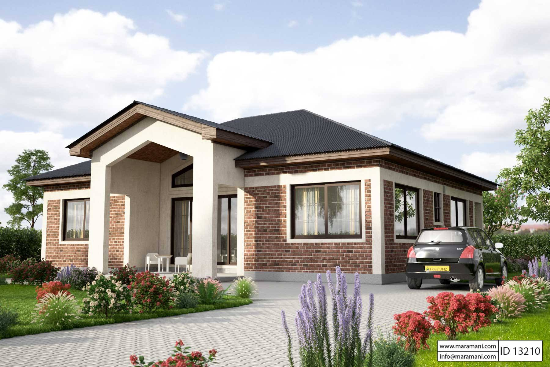 Simple House Design Id 13210 House Plans By Maramani