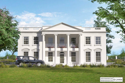 White House Residential Plan - ID 24406