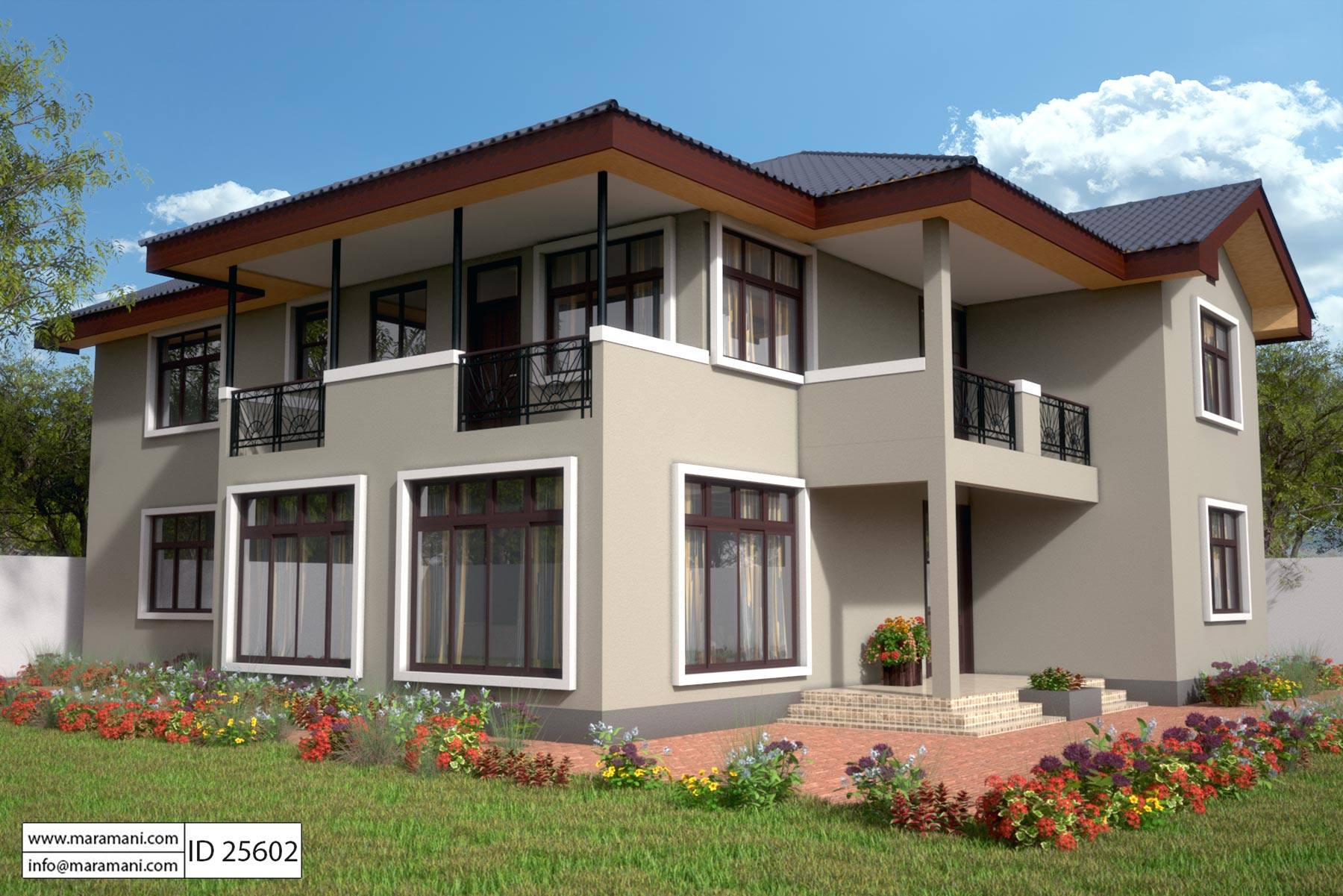 bedroom house design id 25602 house plans by maramani