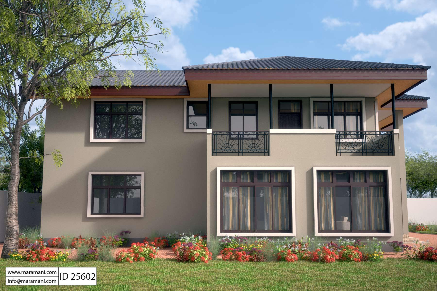 5 bedroom house design id 25602 house plans by maramani - House of bedrooms ...