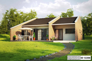 2 Bedroom House Plan - ID 12206
