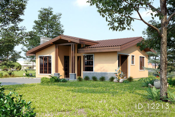Contemporary 2 Bedroom House - ID 12213