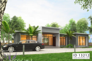 3 bedroom Building Plan - ID 13212