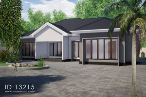 3 bedrooms Building Plan - ID 13215