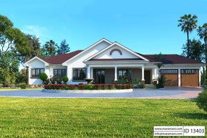 3 Bedroom House Plan - ID 13403