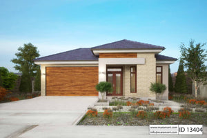 3 Bedrooms House Plan - ID 13404