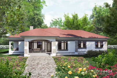 4 Bedroom house plan - ID 14404