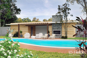 Swimming pool house - ID 14406