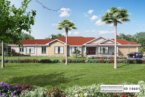 4 bedroom house plans South Africa - House Plans by Maramani