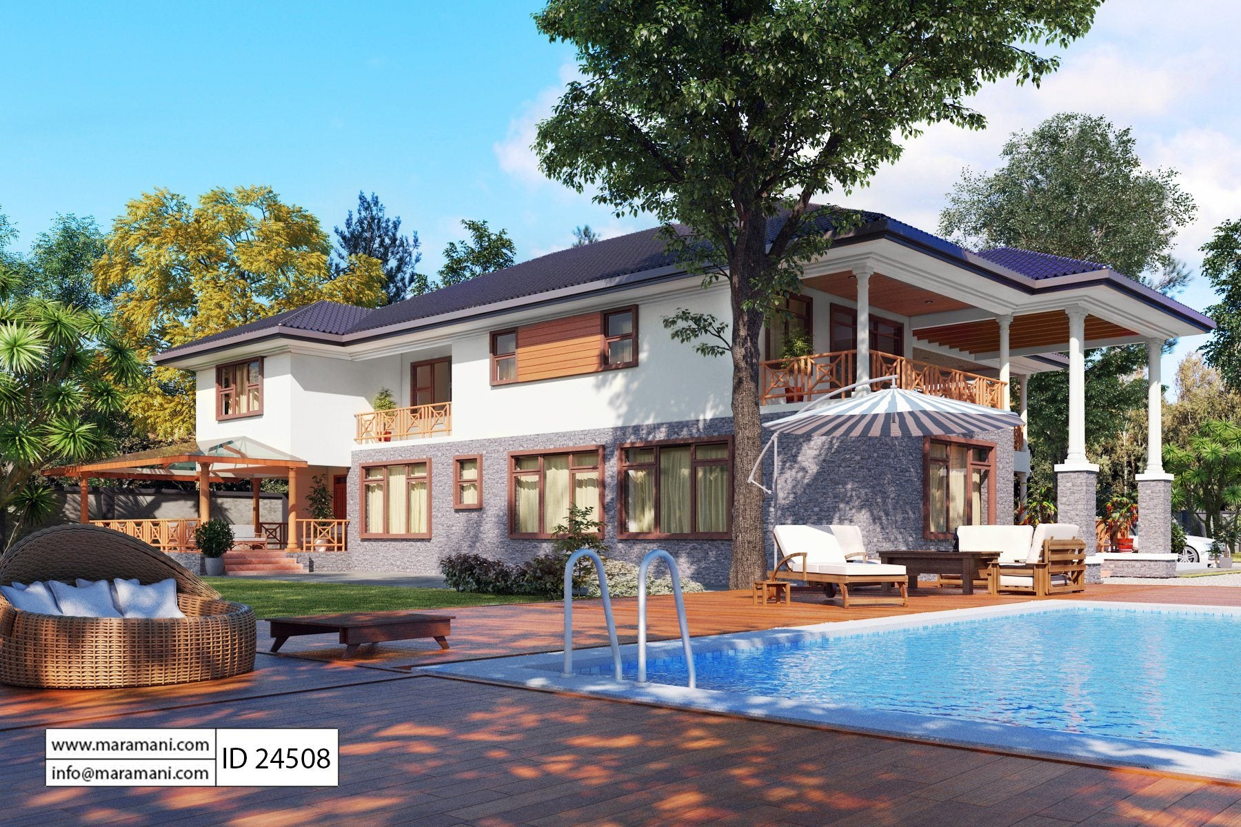 4 bedroom villa id 24508 villa plans for 4 bedroom villa designs