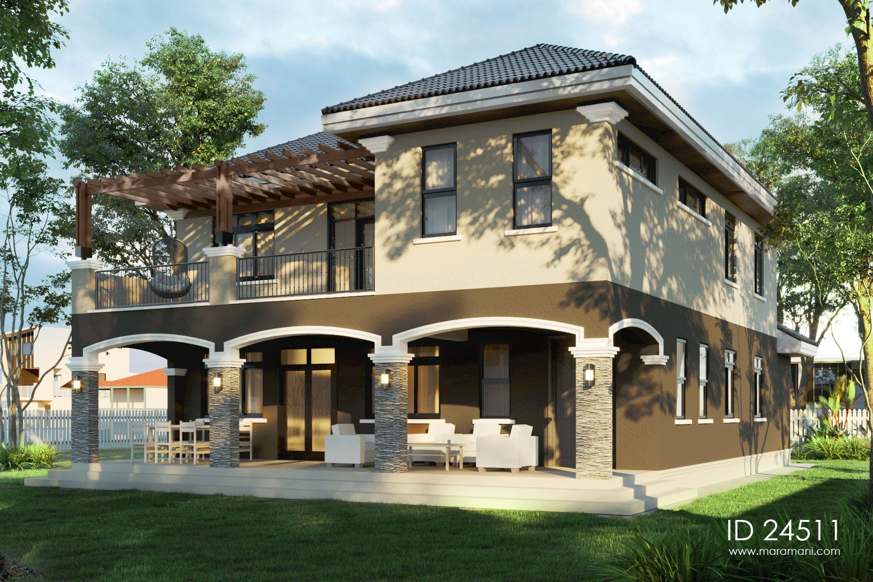4 Bedroom Modern Design - ID 24511 - Design by Maramani