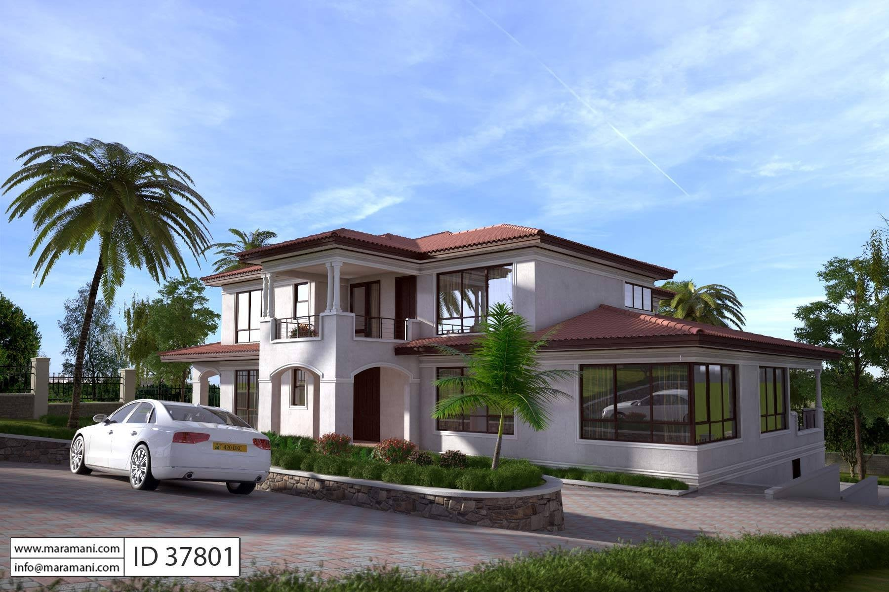 7 bedroom house design id 37801 house designs by maramani for House designers house plans