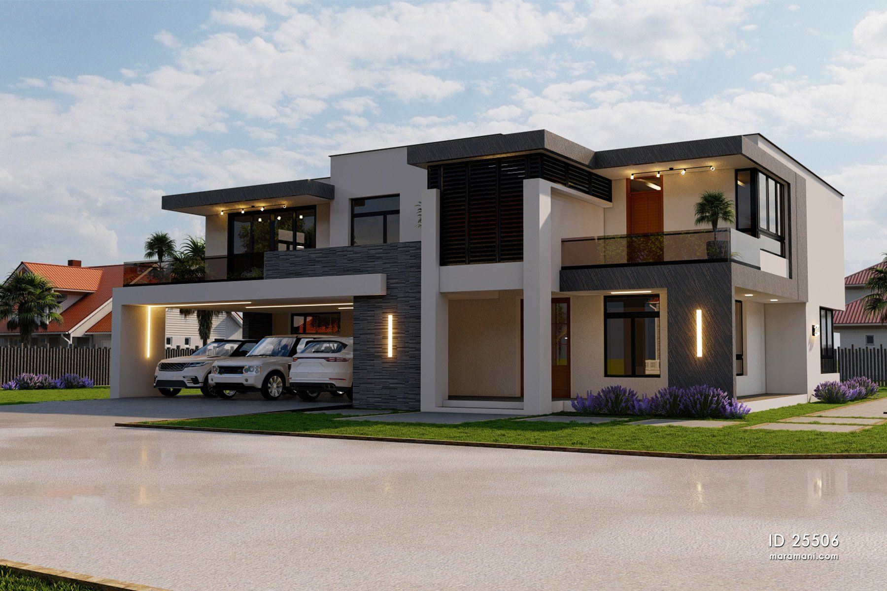 Modern 11 Bedroom Double Storey House - ID 2111106 - House Plans by