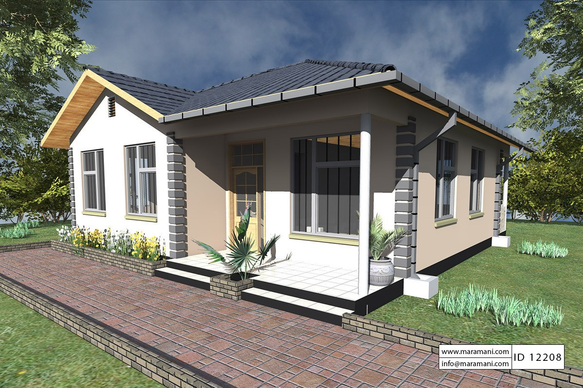 small two bedroom house 2 bedrooms house plan id 12208 house plans by maramani 17355