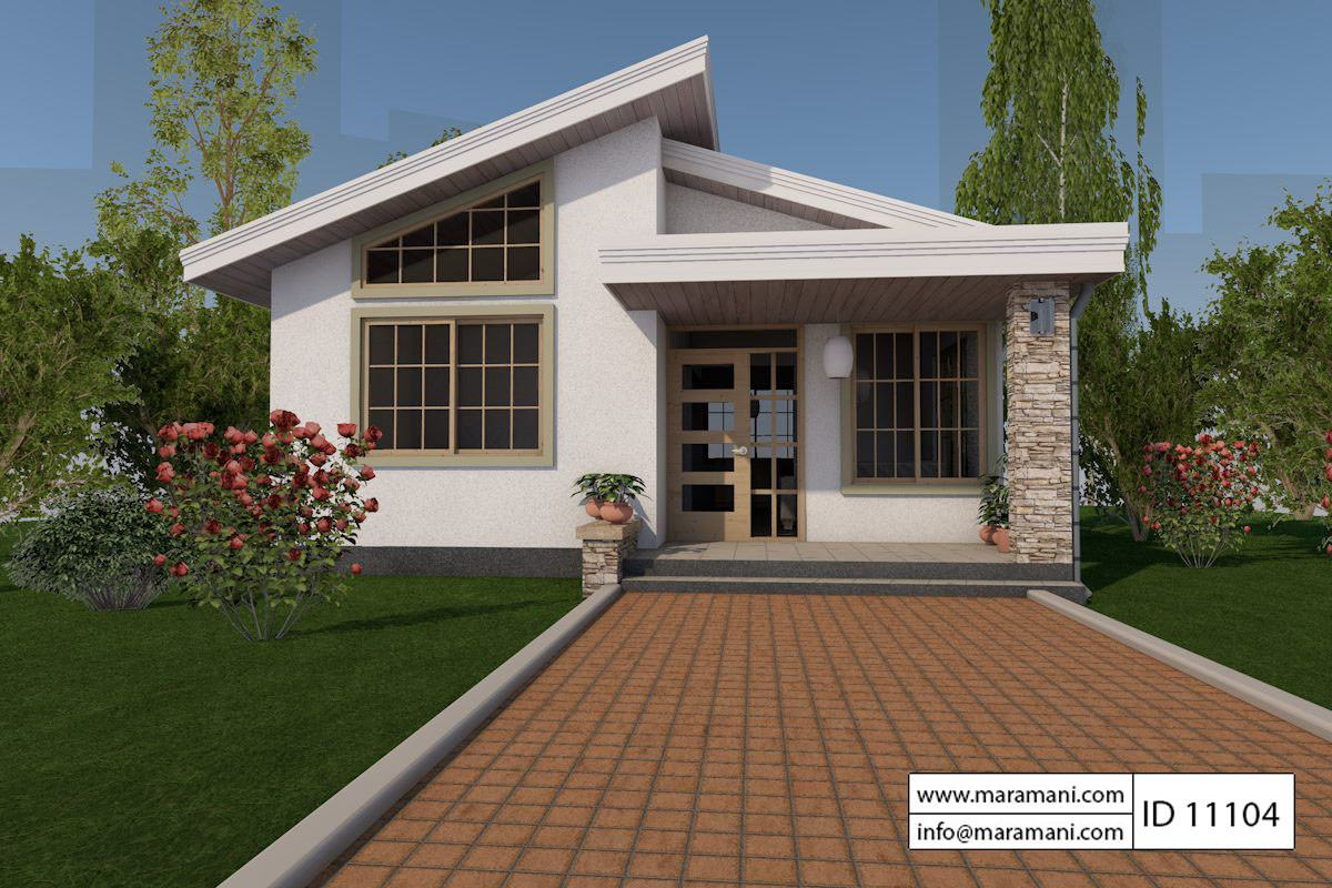 1 bedroom house plan id 11104 house designs by maramani 1 bedroom houses