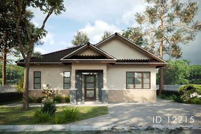 2 bedroom family house - ID 12215