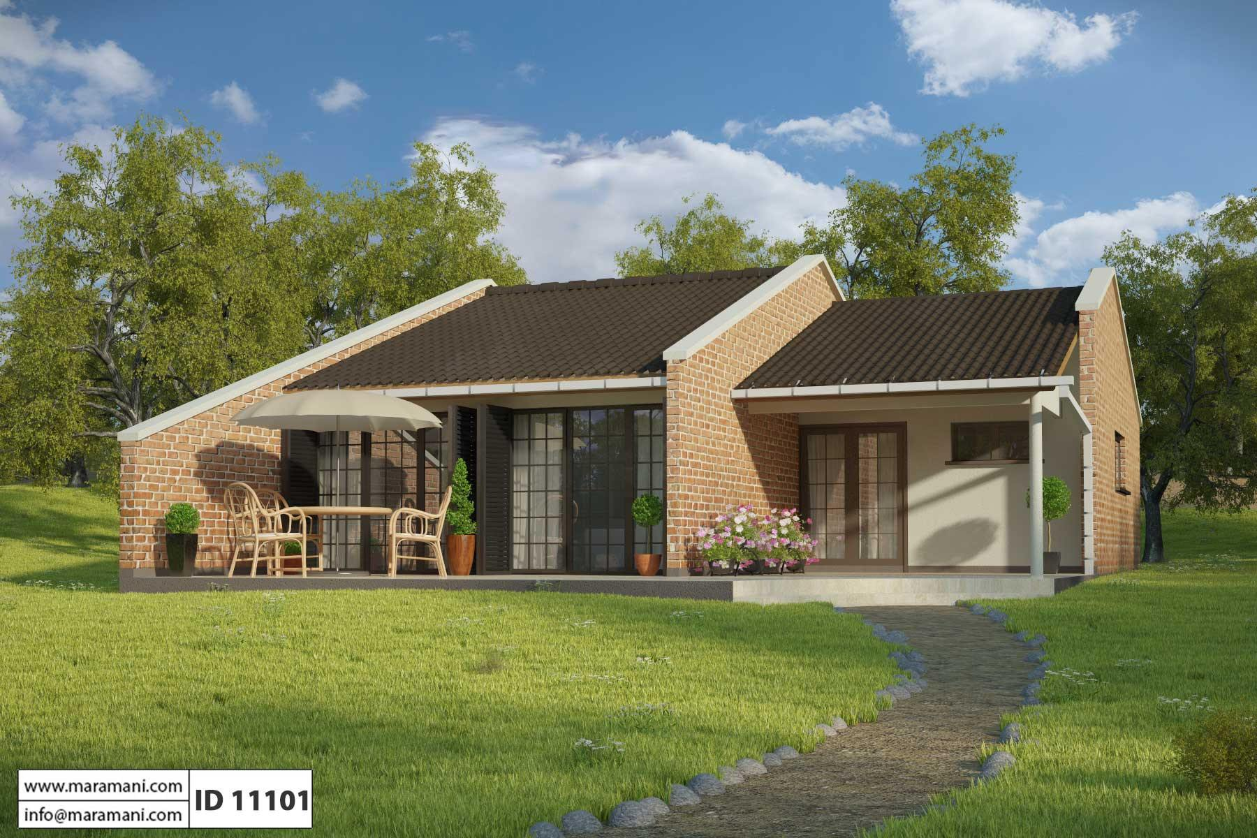 simple floor plan 1 bedroom id 11101 house designs by maramani rh maramani com 1 bedroom house to rent in luton 1 bedroom house for sale