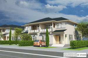 3 Bedroom House Plan - ID 23406