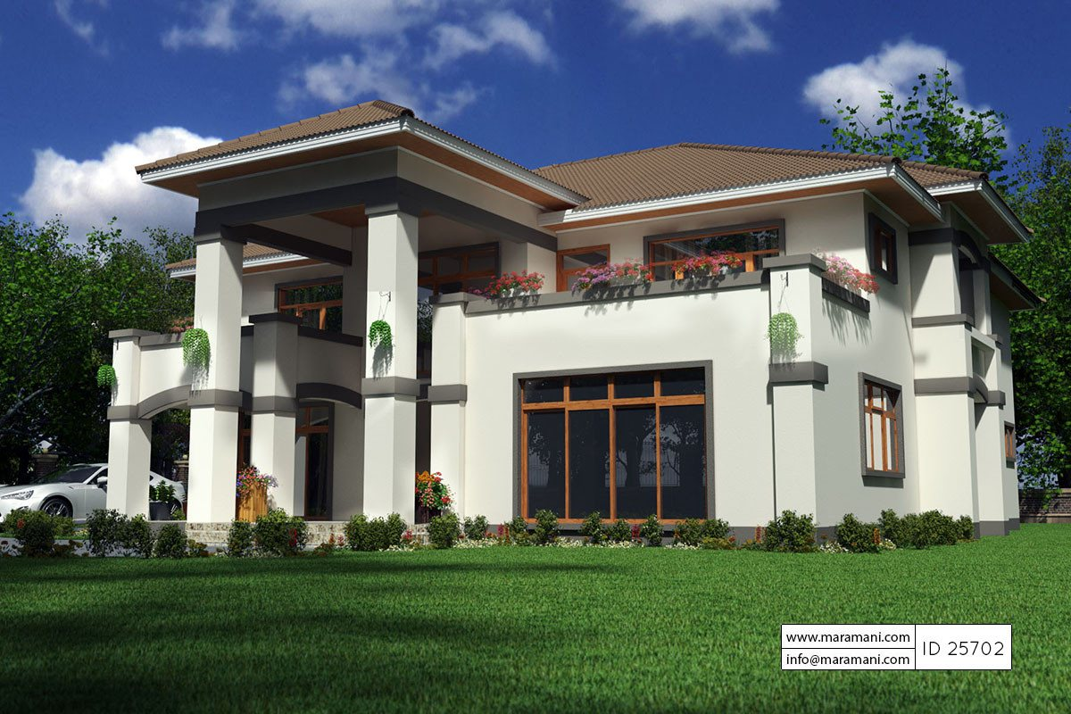 5 bedroom house plan id 25702 house plans by maramani for 5 6 bedroom house plans