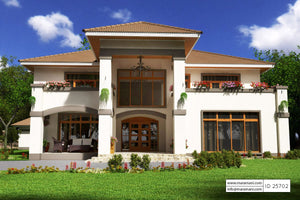 5 Bedroom House Plan - ID 25702