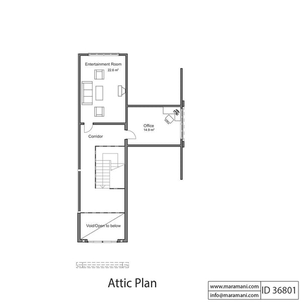 Six Bedrooms House Plan