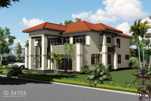 6 Bedroom House Plan - ID 26703