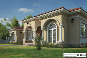 5 Bedroom House Plan - ID 15401