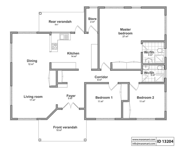 Maramani House And Floor Plans
