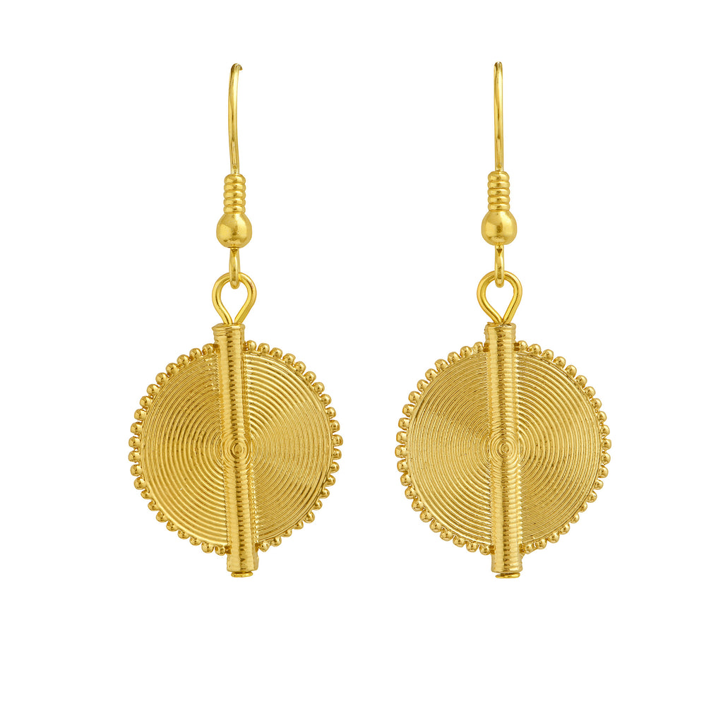Aflé Bijoux Akan Goldweight Earrings - AFLE BIJOUX
