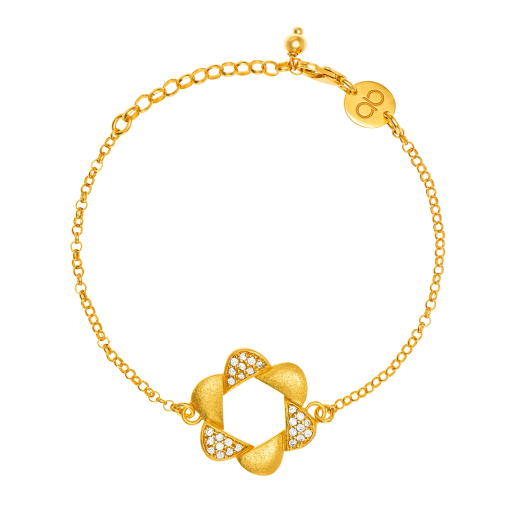 Adinkra Obaa Pa Bracelet Small - Ideal woman - AFLE BIJOUX