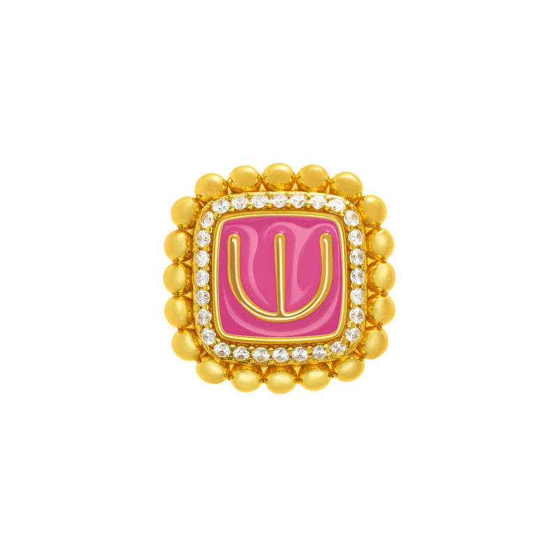 Adinkra Obaatan Ring - Motherhood - AFLE BIJOUX