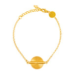 Akan Goldweight Chain Bracelet
