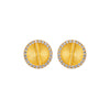 Sparkle Akan Studs Earrings Small