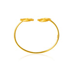 Akan Goldweights Bangle Bracelet - AFLE BIJOUX
