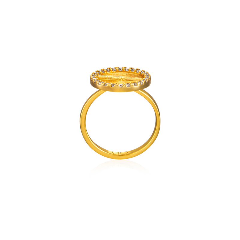 Sparkle Akan Ring Small - AFLE BIJOUX