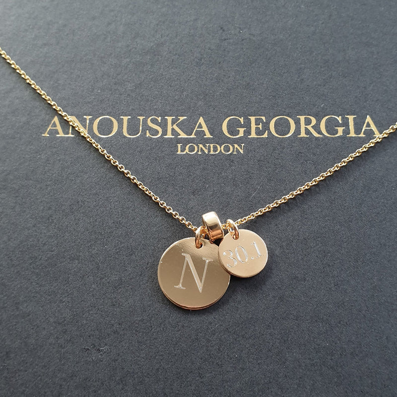 THE 'DOUBLE DISC' NECKLACE