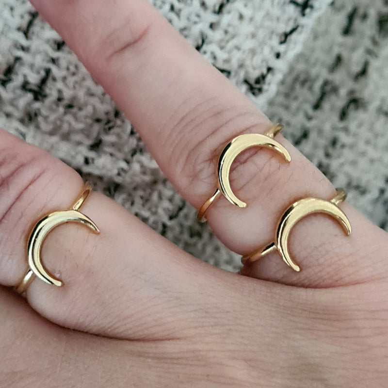 'MINI MOON' RING