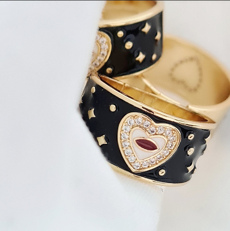 'HAPPY HEART' RING