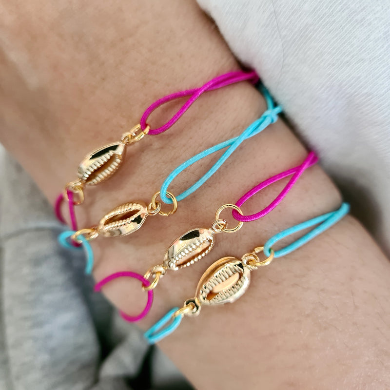 'SEASHELL' FRIENDSHIP BRACELETS