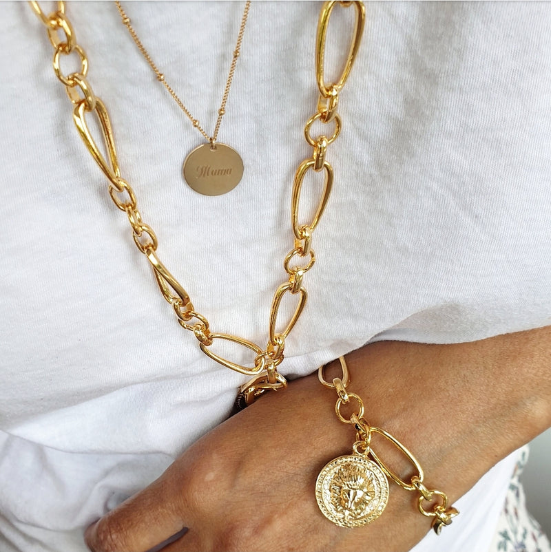 LUXE 'LION' MAXI NECKLACE