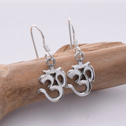 E662 - 925 Silver Ohm earrings
