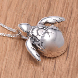 P771 - 925 Silver Hatching Turtle pendant
