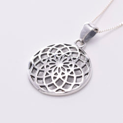 P780 - 925 Silver Seed Of Life pendant