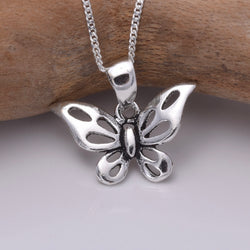 P217 - 925 silver Butterfly pendant