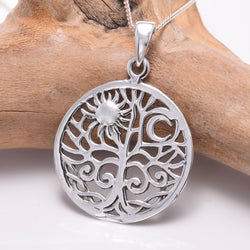 P775 - 925 Silver tree Of Life pendant