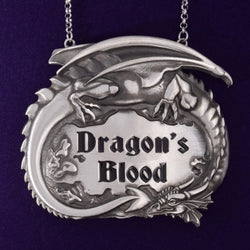 PWP3326 - Dragon's Blood decanter label